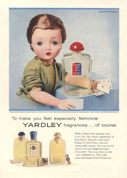 Yardley Fragrances Madame Alexander Doll (1957)