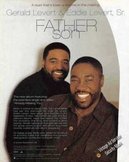 "Gerald & Eddie Levert ""Father & Son"" Music (1995)"