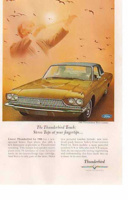 Ford Car – Thunderbird Town Landau – Tan (1966)