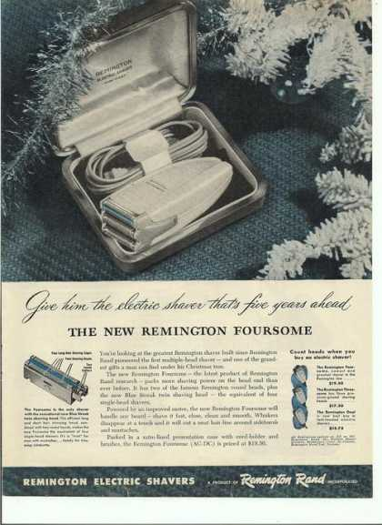 Remington Electric Shaver (1946)