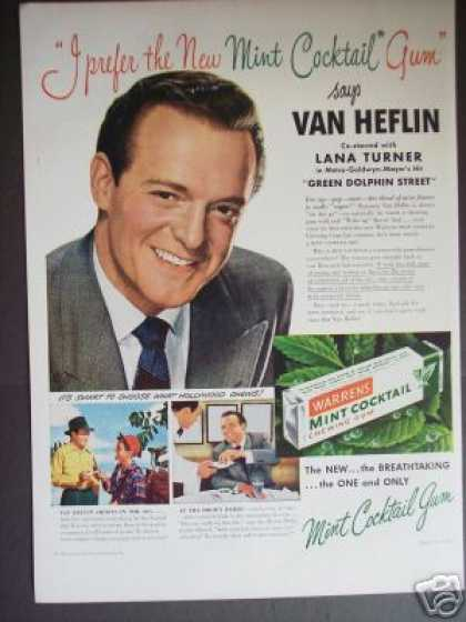Van Heflin In Green Dolphin Street Movie – Gum (1947)