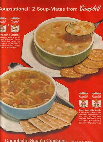 Campbell's Soup-Mates (1963)