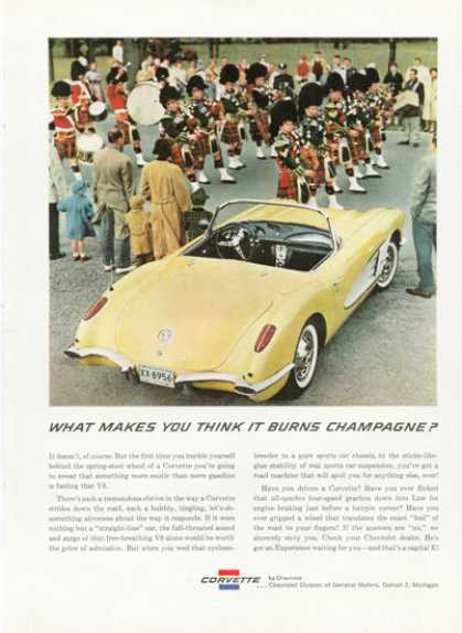 Chevy Corvette Coupe Sports Car (1959)