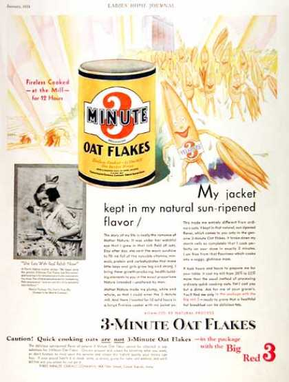 3-Minute Oat Flakes #2 (1931)