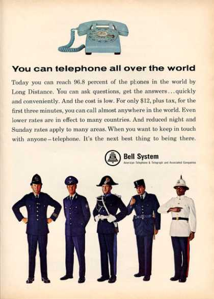 Bell System Telephone Desk Phone (1966)