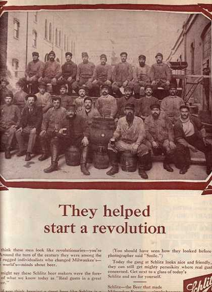 """They helped start a revolution"" (1965)"