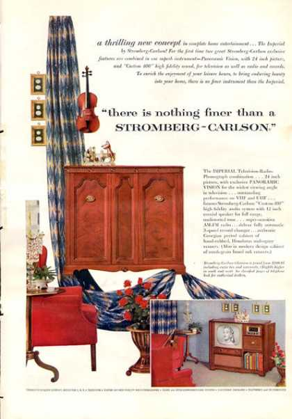 Stromberg Carlson Tv Phono Radio Imperial (1953)