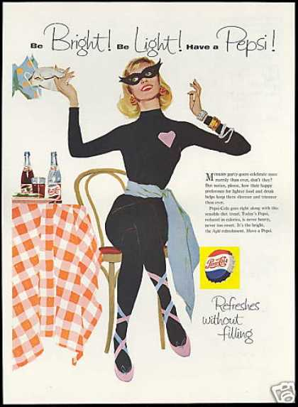 Pepsi Cola Cat Woman Masquerade (1958)