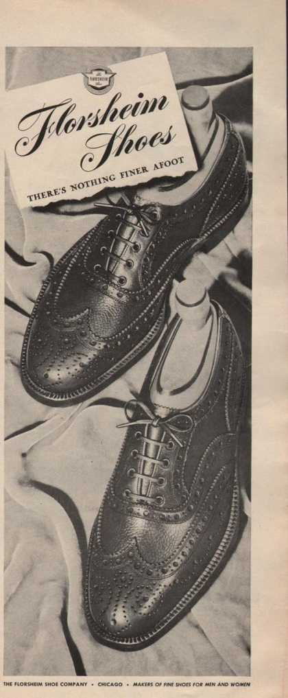 Mens Dress Shoes By Florsheim (1942)