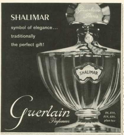 Guerlain Shalimar Perfume Bottle Photo (1959)