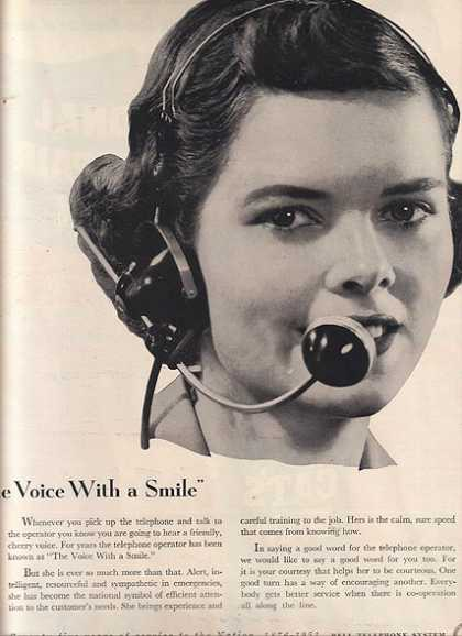 "Bell's ""The Voice with a Smile"" (1951)"