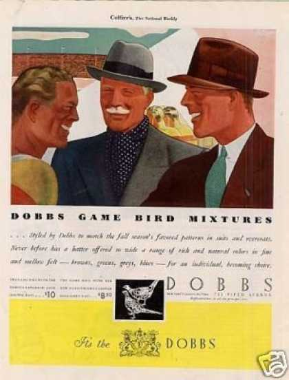 Dobbs Hats Color (1934)