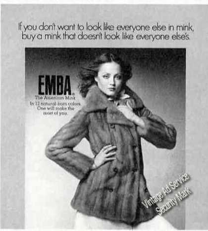 Emba Mink Photo Fashion (1975)