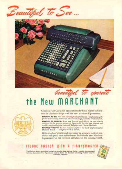 New Marchant Business Machines – Figuremaster (1948)