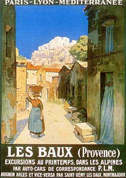 Les Baux by Jan Marco (1922)