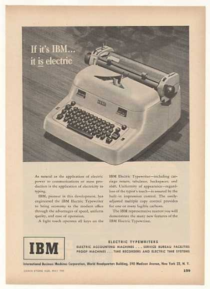 IBM Electric Typewriter (1949)
