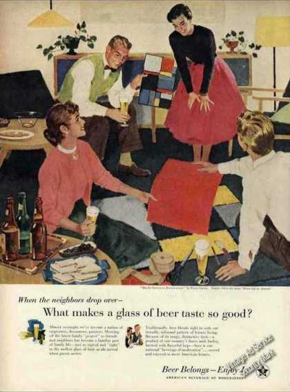 "Beer Belongs – Enjoy It! ""Do It Yourself"" (1956)"