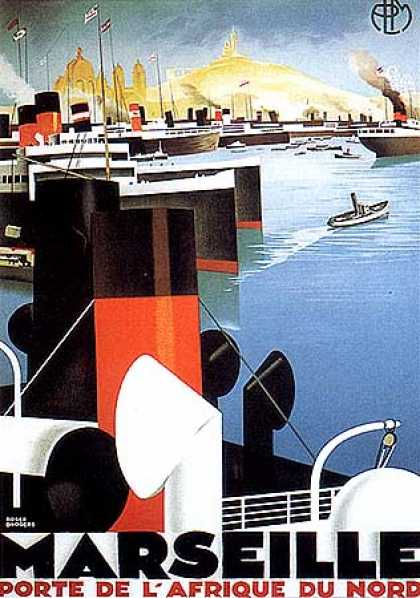 Marseille by Roger Broders (1925)