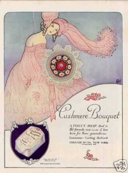 Cashmere Bouquet Soap Color (1923)