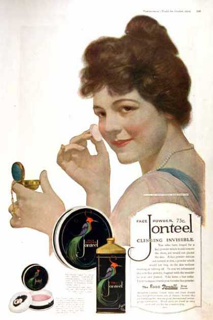 Jonteel Face Powder (1919)