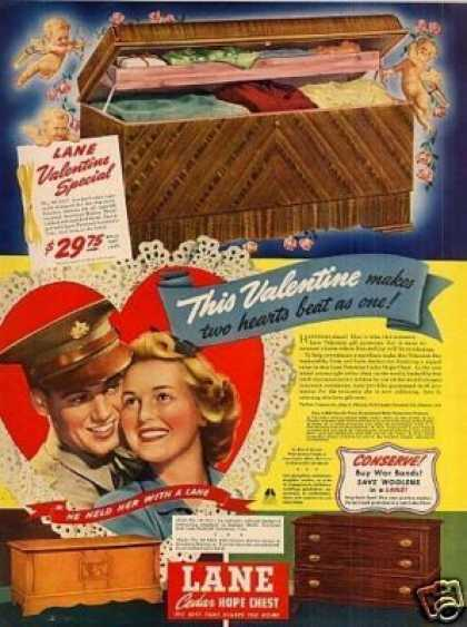 Lane Cedar Hope Chest (1943)