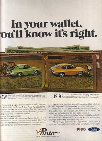 Ford's Pinto (1971)