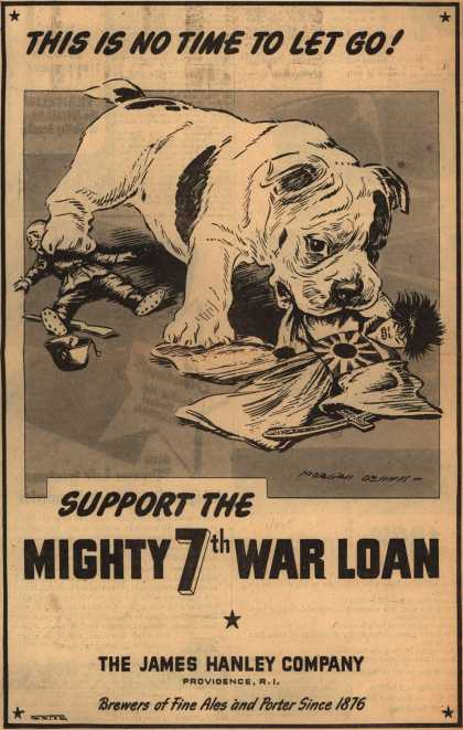 James Hanley Co.'s 7th War Loan – This Is No Time To Let Go (1945)