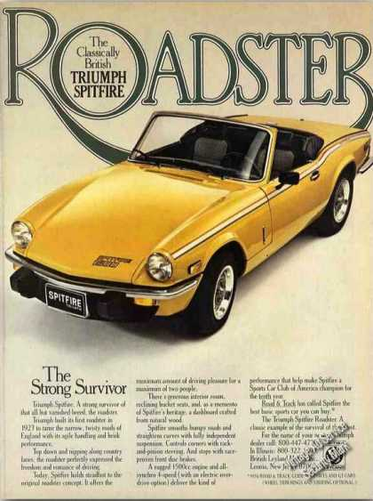 "Triumph Spitfire Roadster ""Classically British"" (1978)"