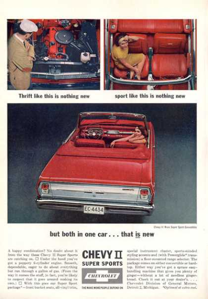 Chevy Ii Nova Super Sport Convertible (1963)