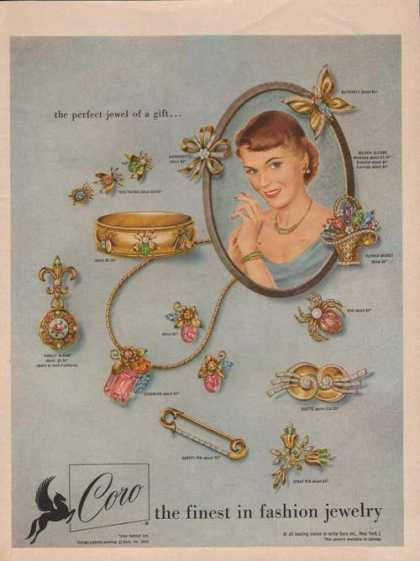Coro Finest In Fashion Jewelry (1950)