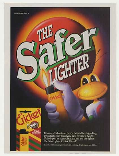 Cricket Safer Lighter Character (1995)