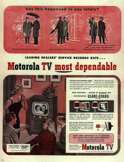 Motorola's Television – Has this happened to you lately? (1951)