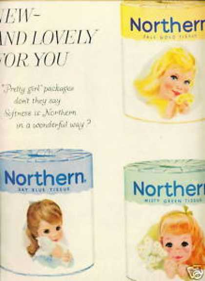 Northern Girls In 2 Page Northern Toilet Paper (1959)