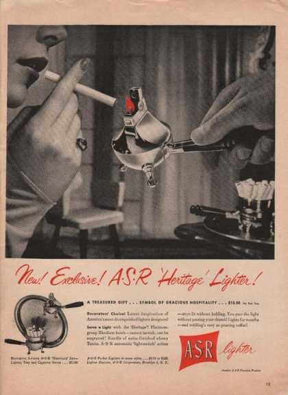 Asr Cigarette Lighter Heritage (1949)