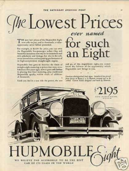 Hupmobile Eight Car (1928)