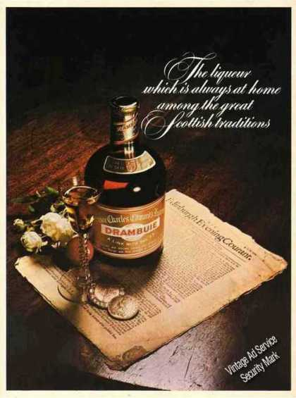 "Drambuie ""Among the Great Scottish Traditions"" (1976)"