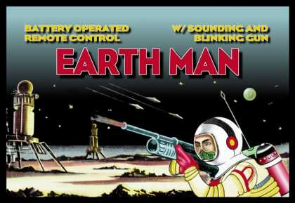 Remote Control Earth Man