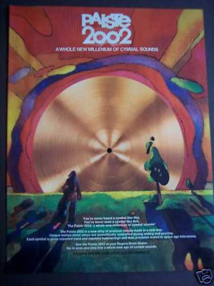 Rogers Paiste 2002 Cymballs Music (1975)