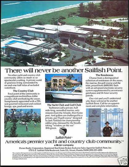 Sailfish Point Yacht Country Club Florida (1983)