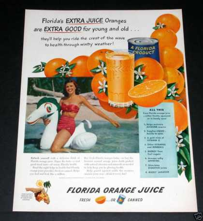 Florida Orange Juice Extra Good (1949)