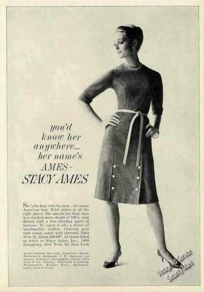 Stacy Ames Photo Collectible Fashion (1962)