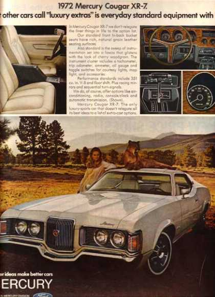 Ford's Mercury Cougar (1971)