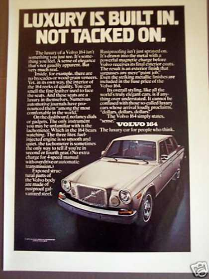 Volvo 164 W Luxury Built In Original (1975)