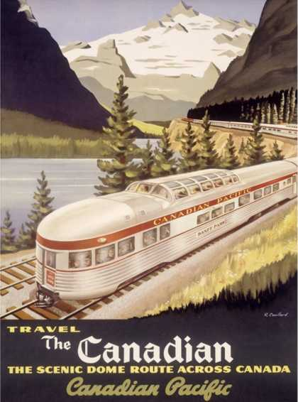 Canadian Pacific Railroad Train