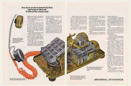 General Dynamics Vistaphone Telephone (1971)