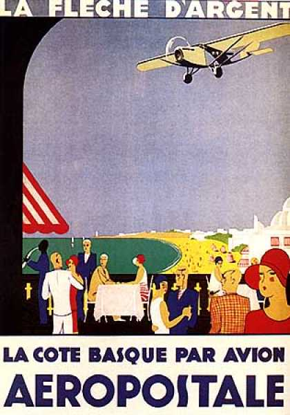La Cote Basque Par Avion (1930)