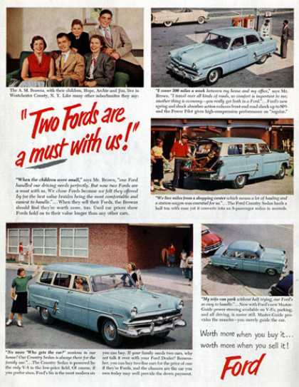 Ford Sedan, Wagon (1954)