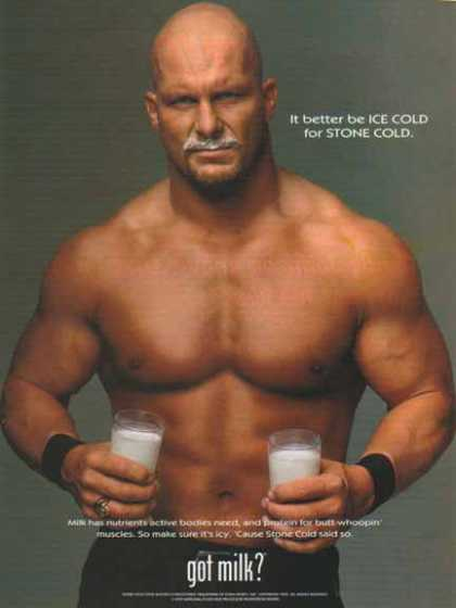 Stone Cold Steve Austin – Got Milk? (1999)
