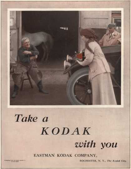 Kodak – Take a Kodak with you (1916)