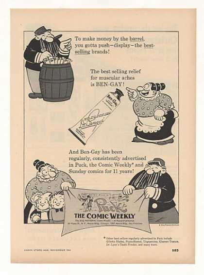 Ben-Gay Puck the Comic Weekly (1952)